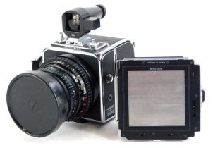 A Hasselblad Superwide CW camera, with f4.5, 38mm Biogno lens and instruction book, with Plus A12 an