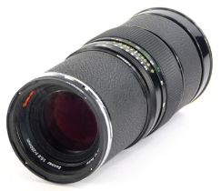 A Rollei HFT Sonnar f5.6 250mm telephoto lens, for a Rolleiflex 6008AF.