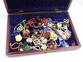 Horse racing enamel enclosure badges, to include Goodwood., St Ledger., Newmarket., Doncaster., Asco