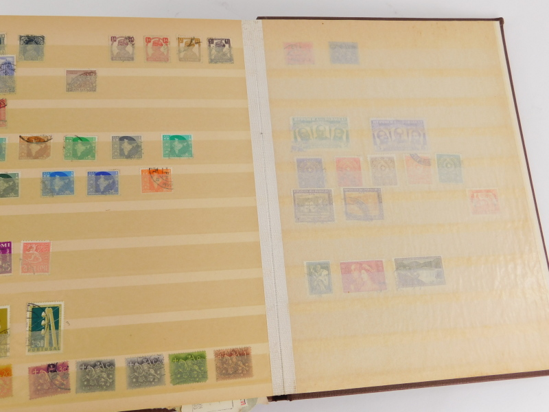 Various stamp stockbooks, containing various world stamps, etc. - Image 4 of 4