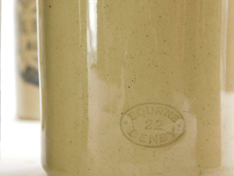 A collection of Lincoln related stoneware ginger bottles, to include Skelton, Draper, Claxton, Rose, - Image 4 of 4