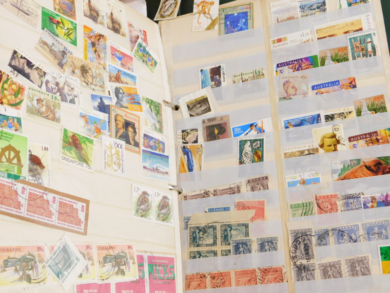 A quantity of stamps, book on stamps, loose stamps, etc. - Image 3 of 3