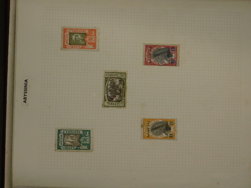 A quantity of stamps, to include World stamps, some stock books, penny black etc. - Image 2 of 4