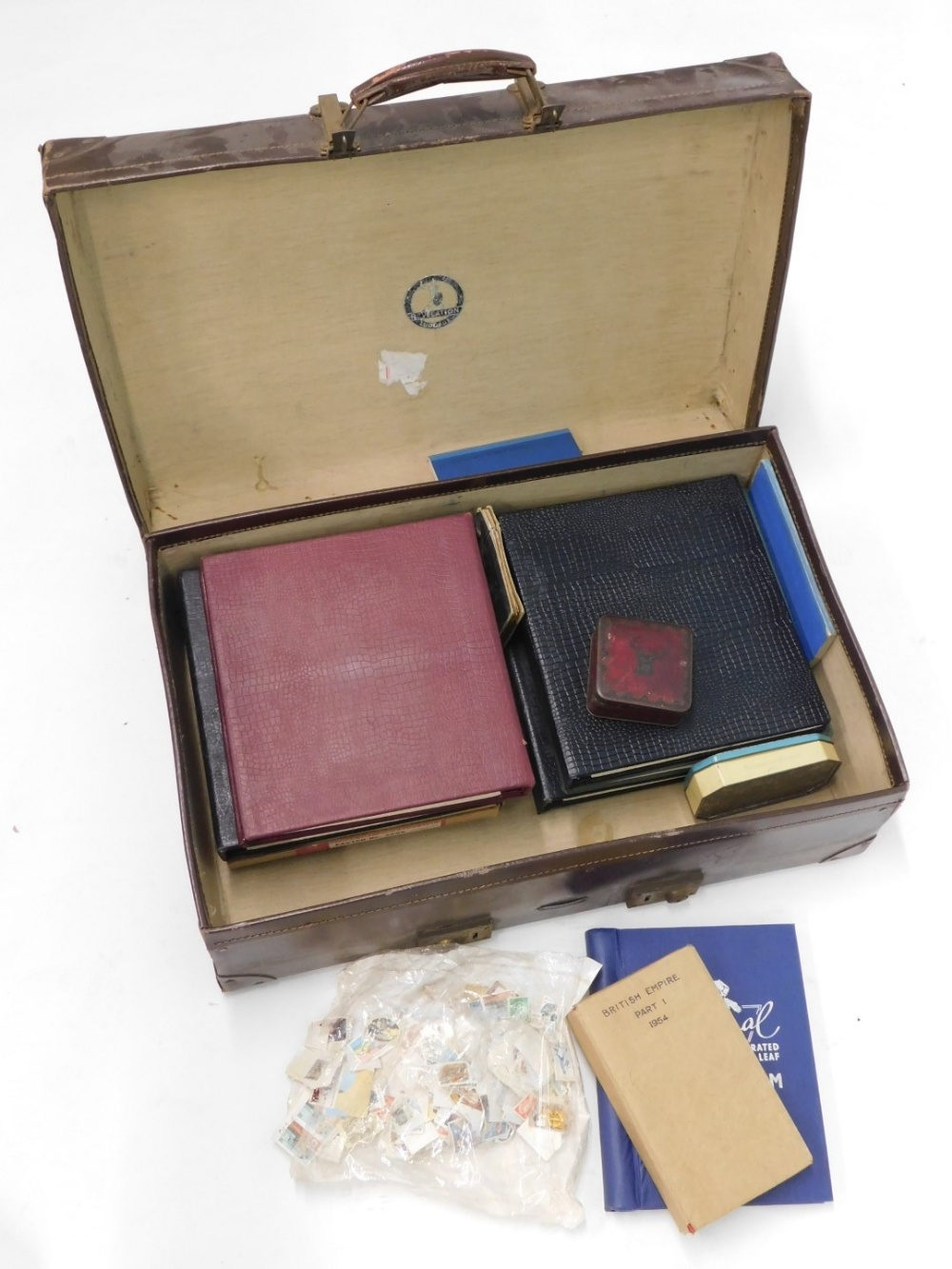 A quantity of stamps, to include World stamps, some stock books, penny black etc.