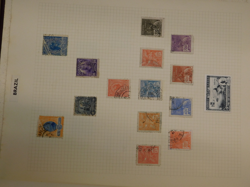 A quantity of stamps, to include World stamps, some stock books, penny black etc. - Image 4 of 4