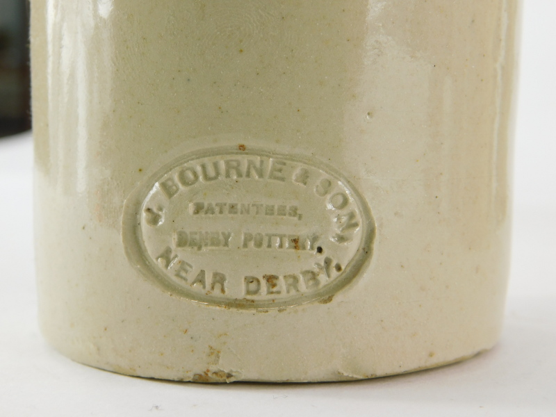 A collection of Lincoln related stoneware ginger bottles, to include Skelton, Draper, Claxton, Rose, - Image 2 of 4