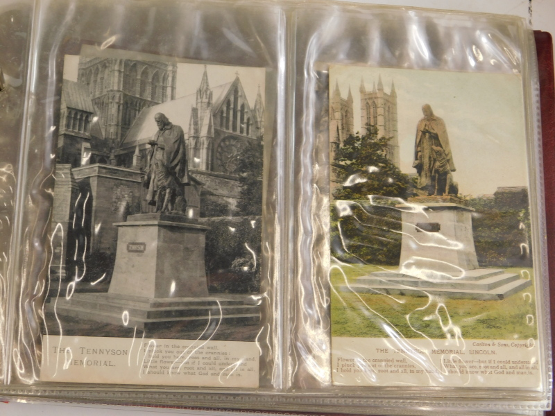 A quantity of early 20thC and later postcards, prints of Lincoln, etc. - Image 4 of 4