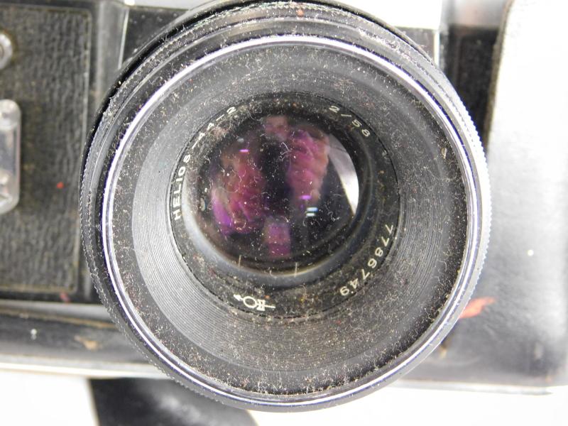 A collection of cameras, to include a Sony DVD Cine camera, a Tamron Auto focus lens, Zenit-e - Image 2 of 3