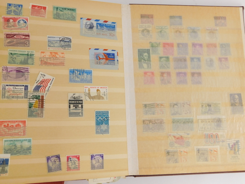 Various stamp stockbooks, containing various world stamps, etc. - Image 2 of 4