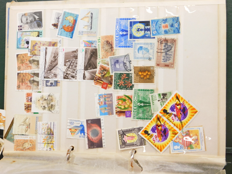 A quantity of stamps, book on stamps, loose stamps, etc. - Image 2 of 3