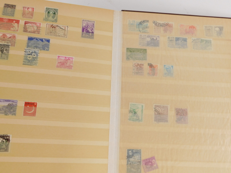 Various stamp stockbooks, containing various world stamps, etc. - Image 3 of 4