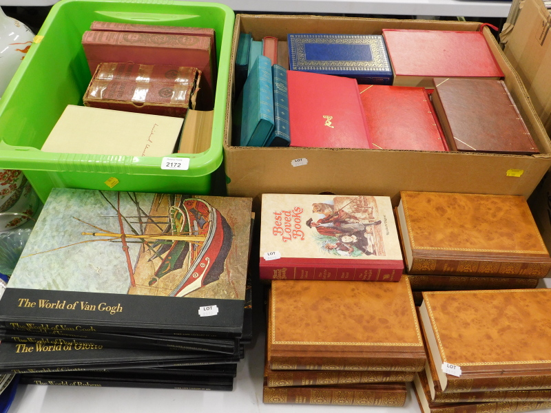 Various books, to include Dickens (Charles), Time Life Library of Art to include The World of Van