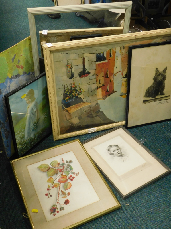 Pictures, prints etc. (a quantity).