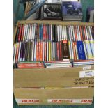A quantity of mainly classical CD's, to include Beethoven, Mozart, Mendelssohn, etc. (3 boxes).