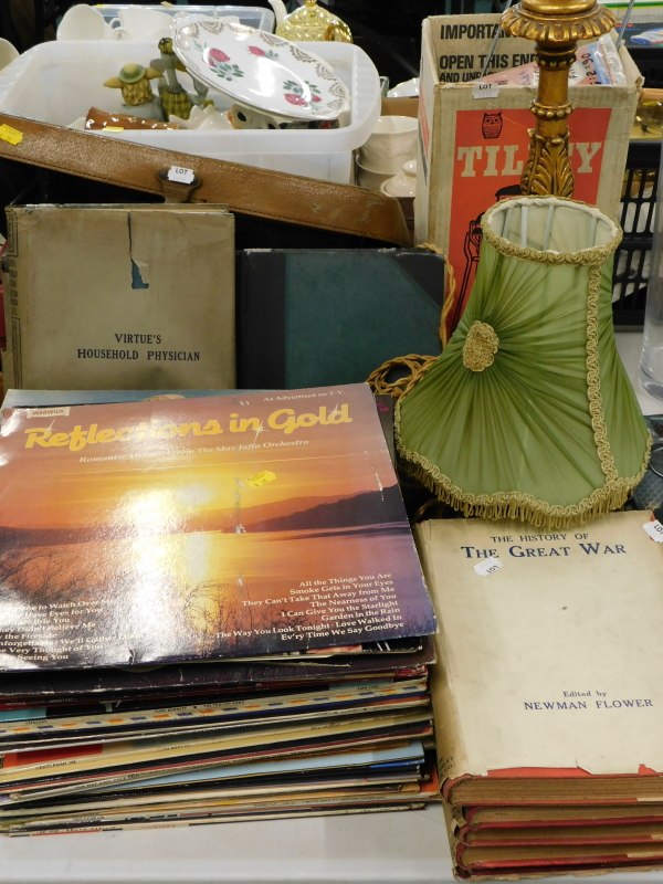 A quantity of LP records, to include Slim Whitman, Englands Twelve Top Pops, Country Hits, various