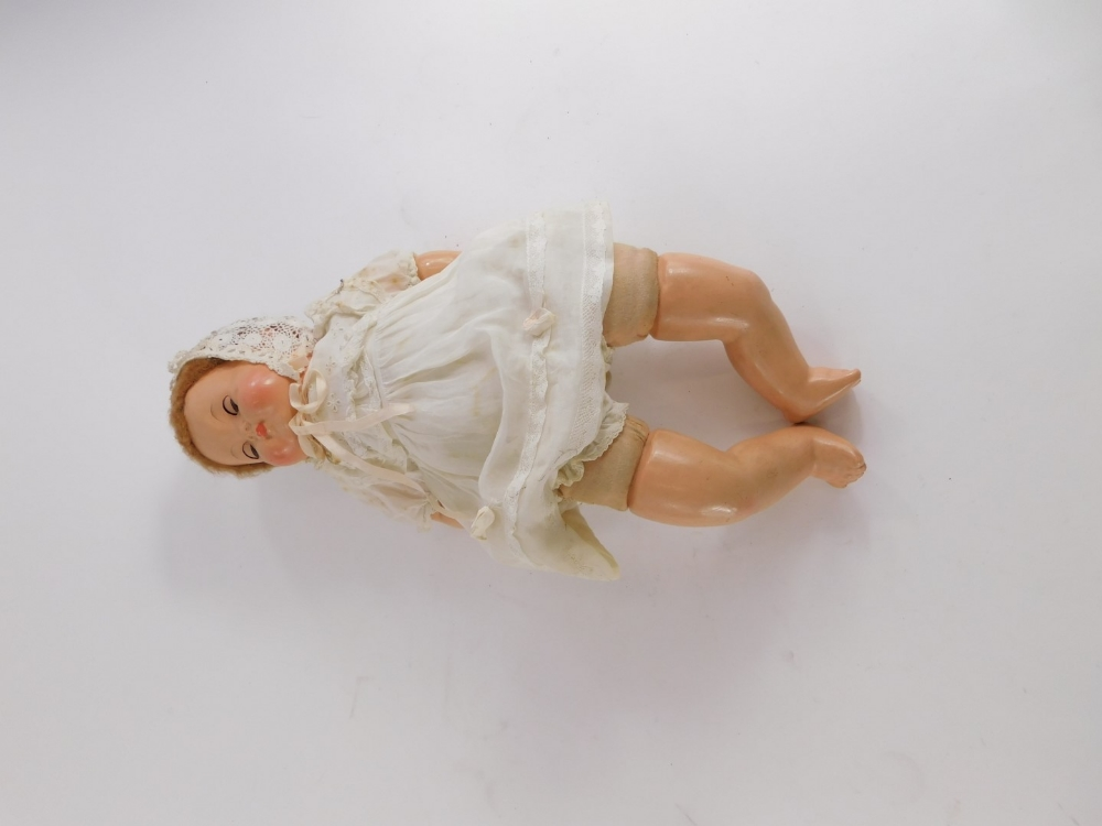 An Effanbee composition doll, with costume, 48cm long. - Image 2 of 2