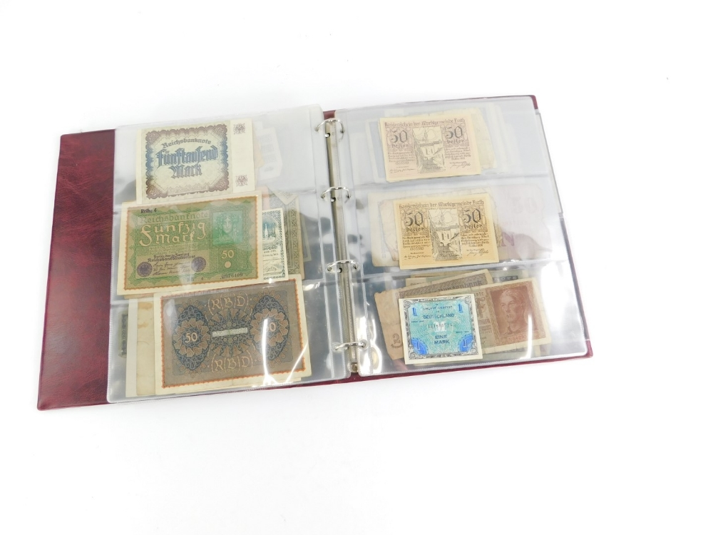 Approximately one hundred world banknotes. - Image 3 of 3