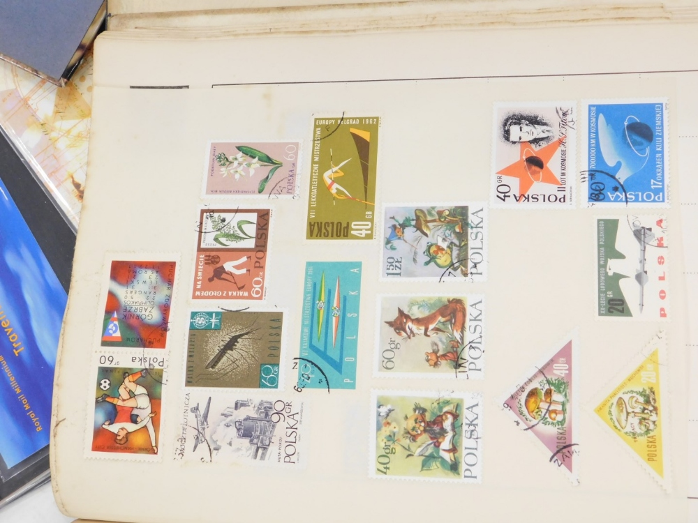 A quantity of stamps, to include albums, First Day covers, the Royal Mail Millennium collection, etc - Image 3 of 5