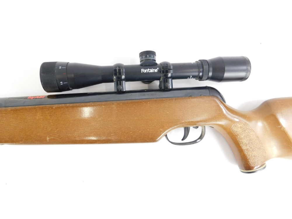 An ASI Magnum Super Fire Power air rifle, with Fontaine sight. - Image 2 of 3
