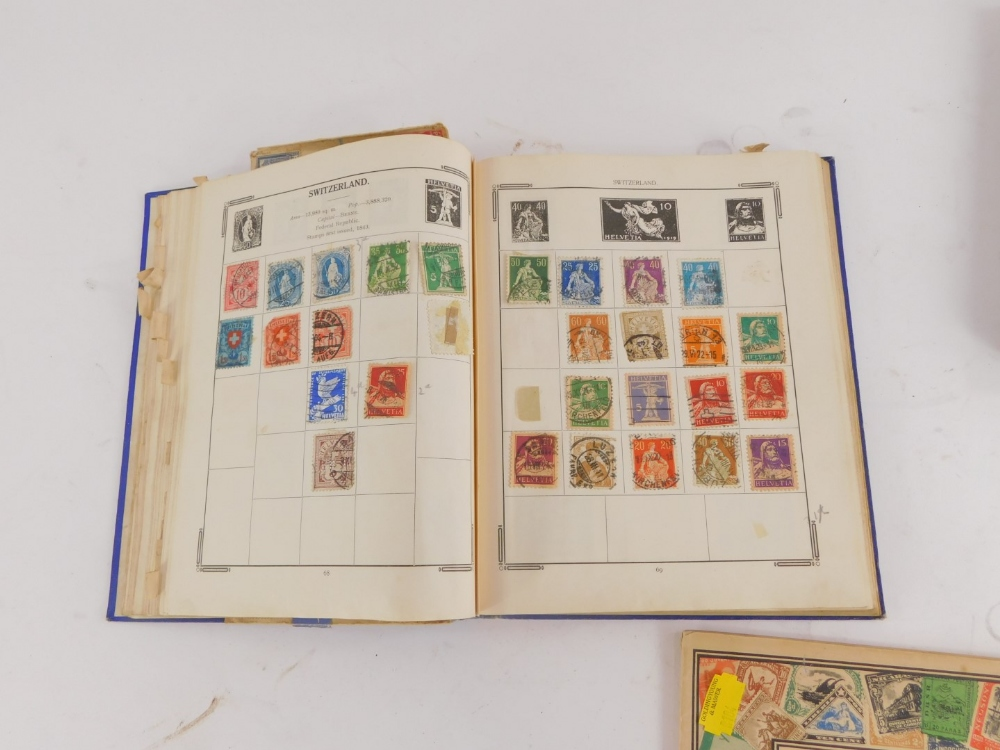Three small albums of stamps, to include Penny Reds, etc. - Image 3 of 3