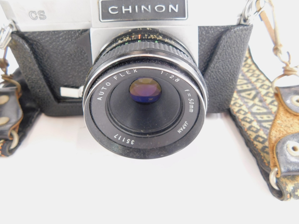A Chinon CS camera, with lens. - Image 2 of 2