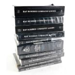 A full set of RAF Bomber Command Losses, volumes 1-9, including The Bomber Command War Diaries