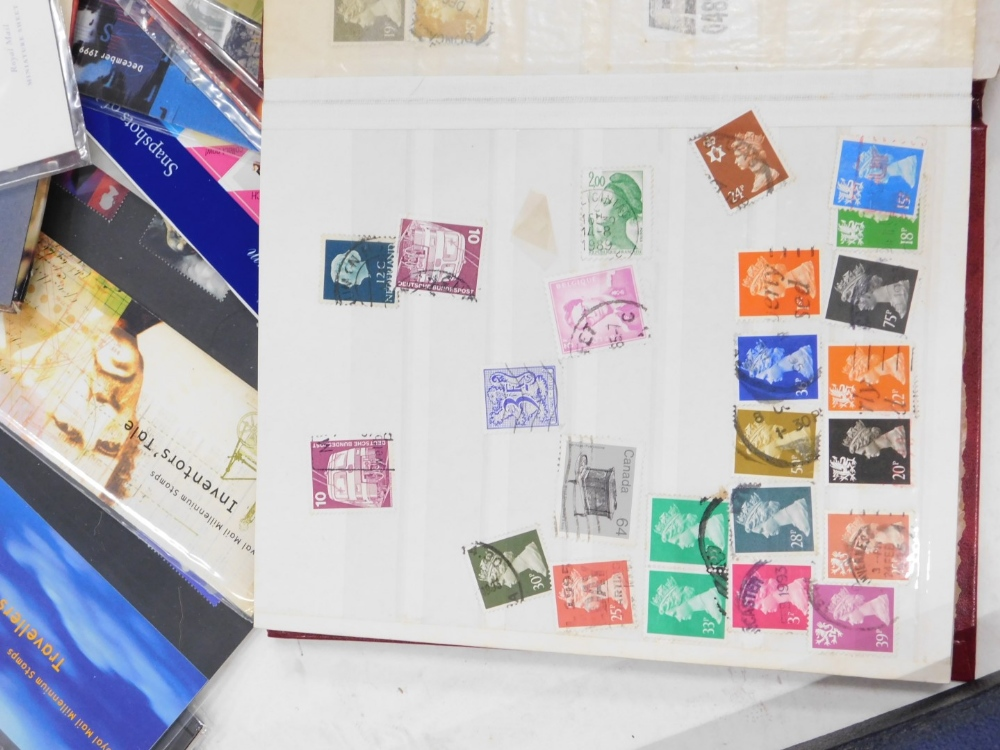 A quantity of stamps, to include albums, First Day covers, the Royal Mail Millennium collection, etc - Image 5 of 5