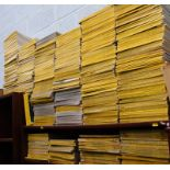 A large quantity of National Geographic magazines, from the 50s, 80s, 60s, 90s, 2000s, etc. (a quant