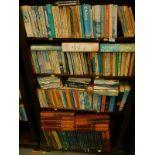 Various books, fiction, non-fiction, to include James (PD), Pratchett (Terry), Plaidy (Jean), etc. (