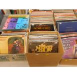 A quantity of records, mainly classical and easy listening, to include Prokofiev Romeo and Juliet Co
