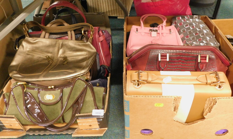 A quantity of ladies handbags, to include Biba, Jack French, etc., to include shoulder bags, top han