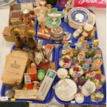 General household effects, to include various figure groups, Royal Adderley floral sprays, a Noritak