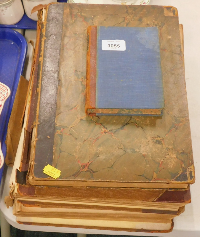 A collection of books, to include Elliot (F) The Diary of An Idle Woman In Scilly, with cloth boards