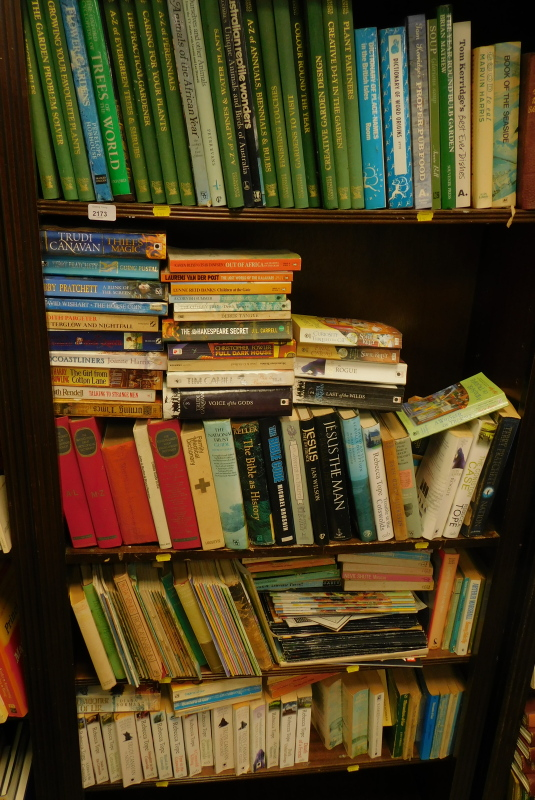 Various books, fiction, non-fiction etc., to include Pratchett (Terry) A Blink of the Screen, Harris