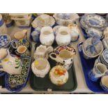 Decorative china and effects, to include a Masons Mandalay pattern jug, an Aynsley Wild Tudor vase,
