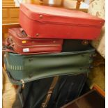 A quantity of suitcases and holdalls, to include Antler, Revelation, etc. (a quantity)