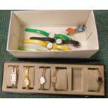 A quantity of wristwatches, to include Jakko, Pierre Durrand, etc.