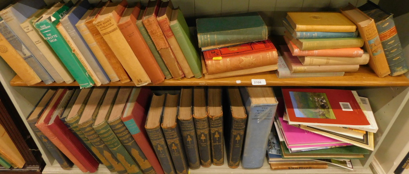 Various books, fiction, non fiction, to include The Works of Oscar Wilde, Galsworthy (John) The Fors