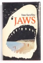 Benchley (Peter). Jaws, with dust wrapper, published by The Book Club Associates, by arrangement wit