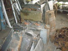Collectors car radiators and automobilia, etc., comprising radiators for Ford Granada, Orion, plus o