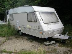 A Marauder 450-CT caravan.