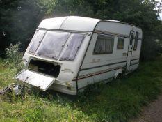 A Compass Raylle 510 caravan.