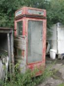 A Lion Foundry red telephone box. (AF)