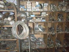 Vintage and collectors car parts and automobilia , comprising voltage regulators, NOS king pin kits,