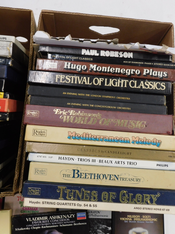 A quantity of classical records, mainly box sets, to include Decker, EMI, etc. (2 boxes) - Image 3 of 3