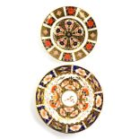 A Royal Crown Derby porcelain 1128 pattern Imari small plate, 16cm diameter and a Stephenson and Han