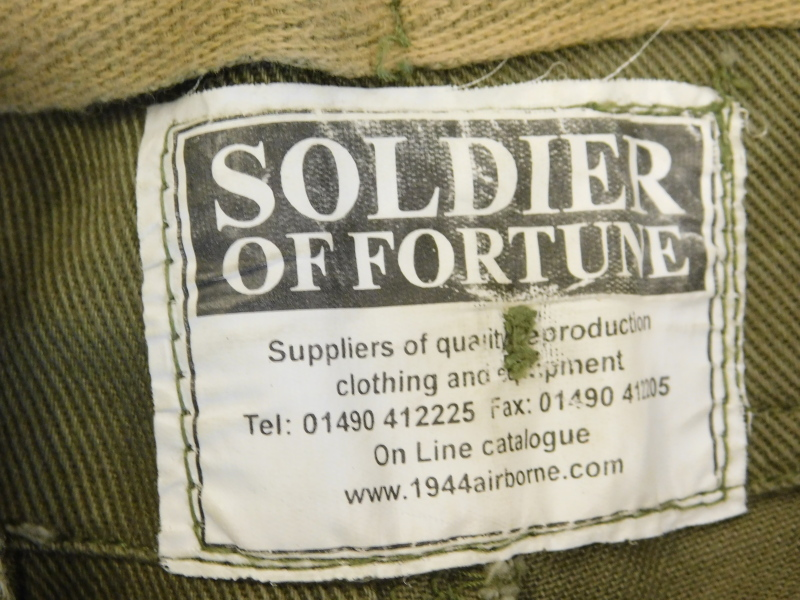 A Second World War winter combat jacket, size Medium, label for De Brander Co, dated February 29 194 - Image 4 of 4