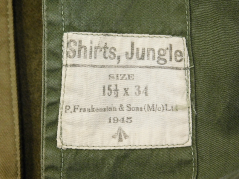 A Second World War winter combat jacket, size Medium, label for De Brander Co, dated February 29 194 - Image 3 of 4