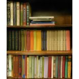 A quantity of Folio Society books, subjects to include Fuller's Worthies, Bronte Sisters, Jane Austi
