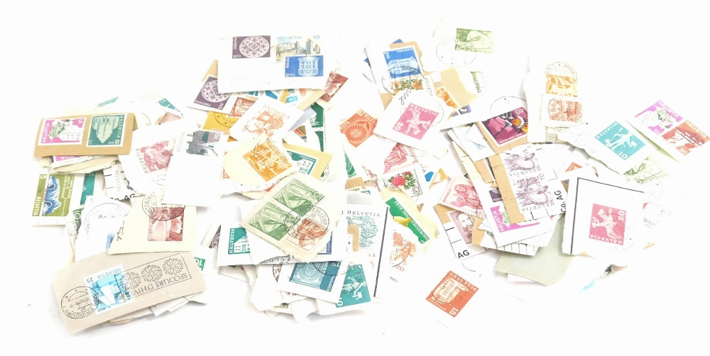 Miscellaneous loose stamps.